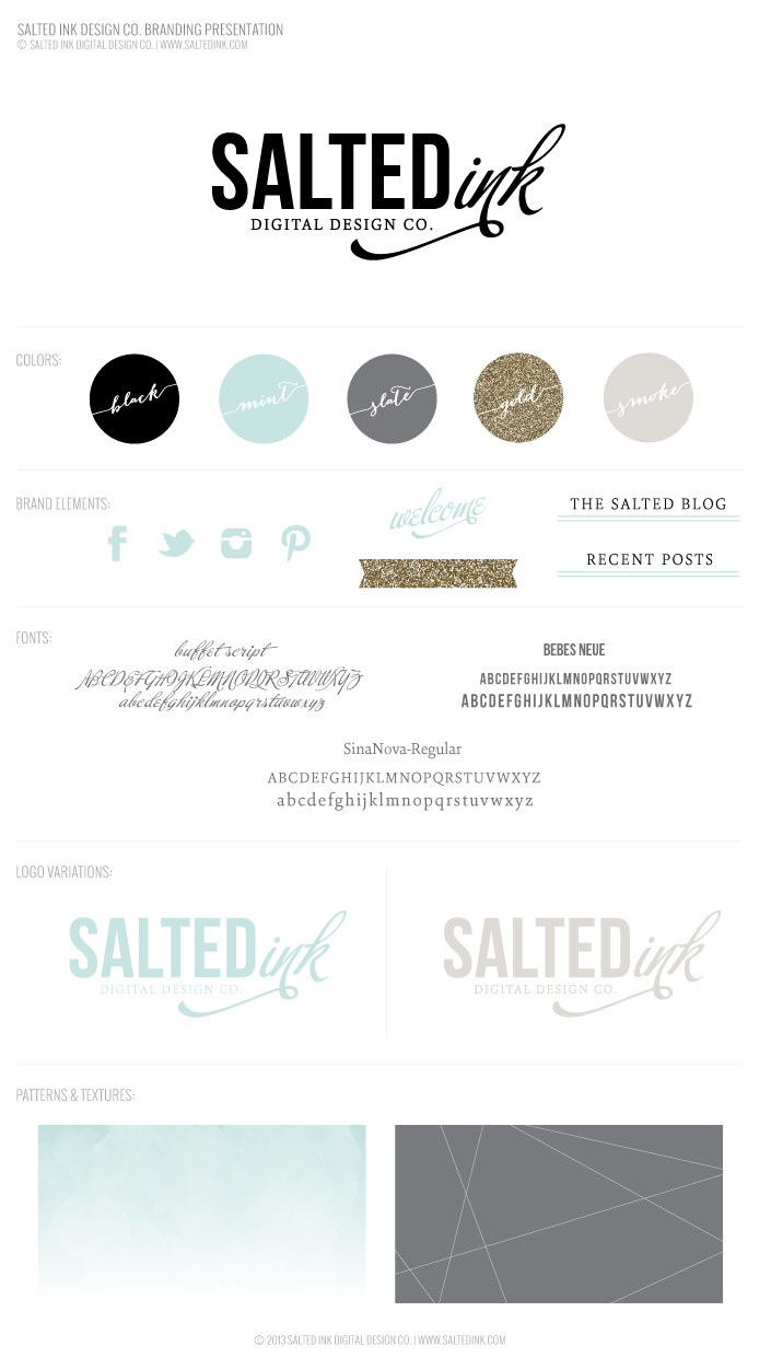 courchesne photography brand salted ink logos new brand launch