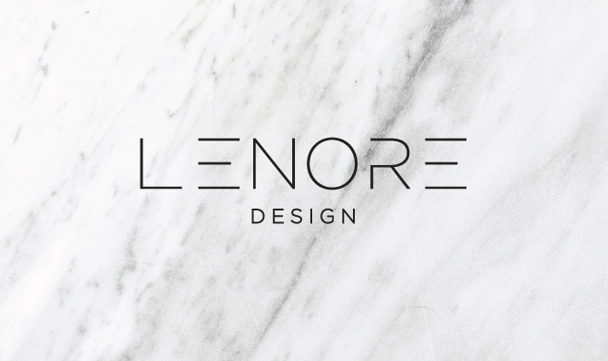 Brand Launch Lenore Interior Design Salted Ink Design Co Classy Interior Design Branding